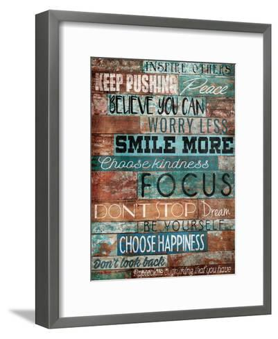 Inspire Others-Jace Grey-Framed Art Print