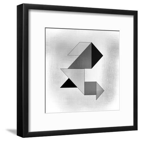 Geo 1-Kimberly Allen-Framed Art Print