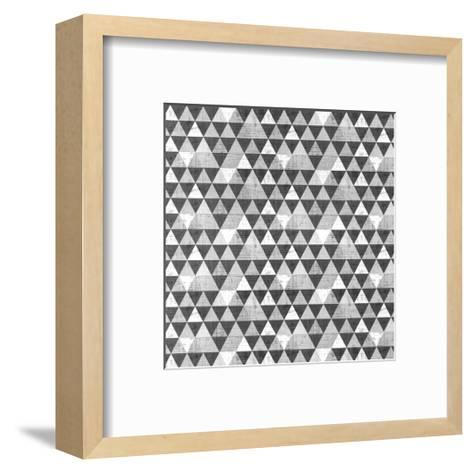 Geo Triangle 1-Kimberly Allen-Framed Art Print