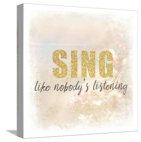 Sing-Kimberly Allen-Stretched Canvas Print