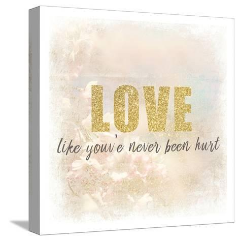 Love-Kimberly Allen-Stretched Canvas Print