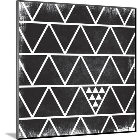Black Pattern-Gigi Louise-Mounted Art Print