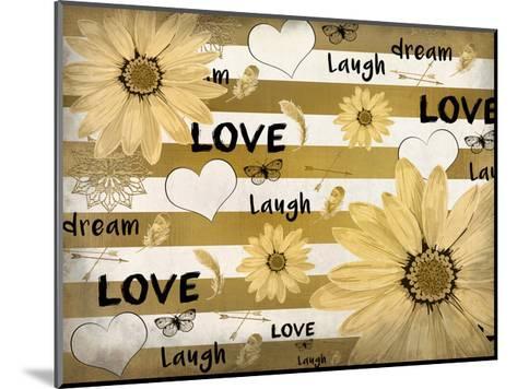 Love Dream Laugh-Kimberly Allen-Mounted Art Print