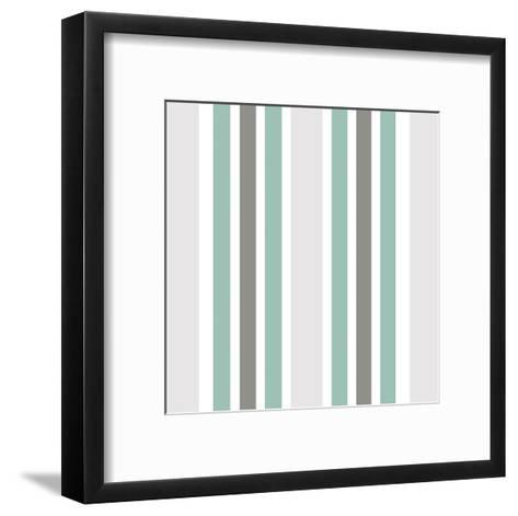 At The Shore Pattern-Kimberly Allen-Framed Art Print