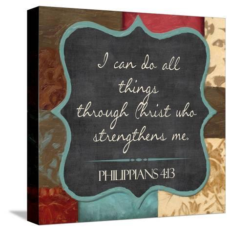 I Can Do-Taylor Greene-Stretched Canvas Print