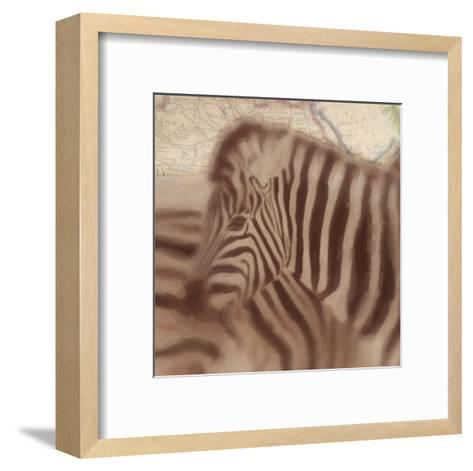 Zebra-Taylor Greene-Framed Art Print