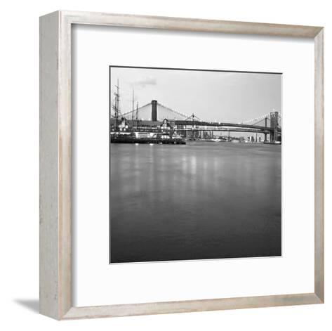 Brooklyn bw-Tracey Telik-Framed Art Print