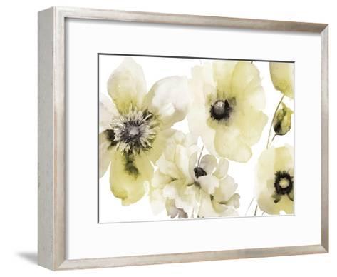 Gray Yellow Hues 3-Victoria Brown-Framed Art Print