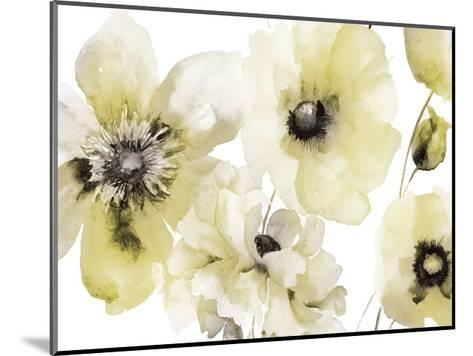 Gray Yellow Hues 3-Victoria Brown-Mounted Art Print