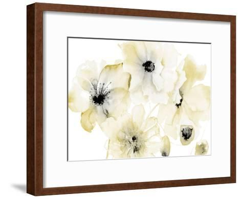 Gray Yellow Hues 4-Victoria Brown-Framed Art Print