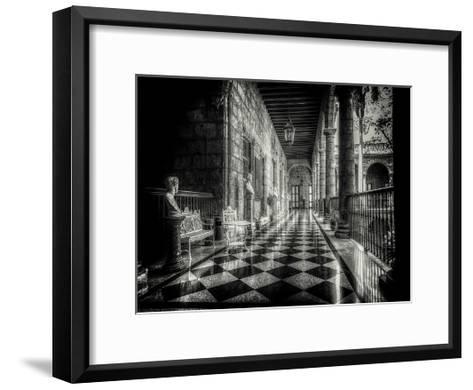 Hallway-Vladimir Kostka-Framed Art Print
