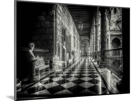 Hallway-Vladimir Kostka-Mounted Art Print