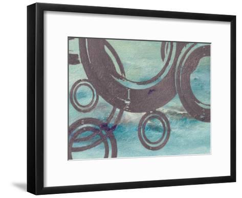 Cement Rings-Taylor Greene-Framed Art Print