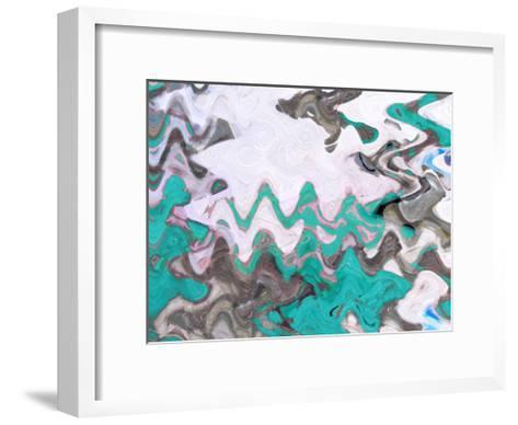 Blue Waves-Taylor Greene-Framed Art Print