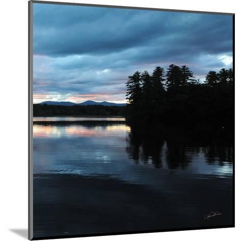 Sunset Lake Pink 2-Suzanne Foschino-Mounted Art Print