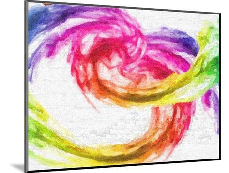 Rainbow Swirl-Taylor Greene-Mounted Art Print