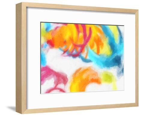 Spectrum Abstract-Taylor Greene-Framed Art Print