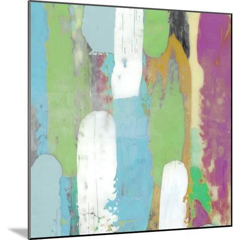 Colorful Layers I-Julie Silver-Mounted Giclee Print