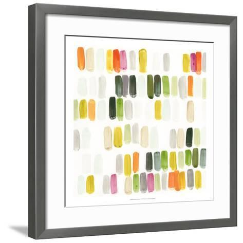Colorful Swatches I-Julie Silver-Framed Art Print