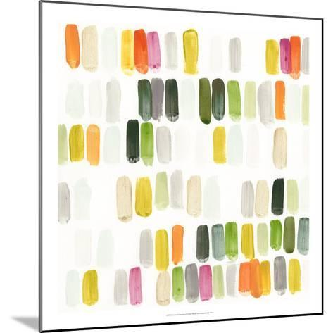 Colorful Swatches I-Julie Silver-Mounted Giclee Print