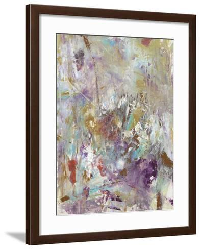 Mixed Emotions I-Julie Silver-Framed Art Print