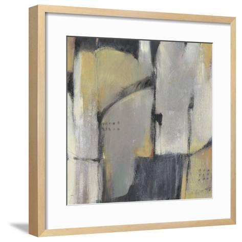 Peaceful Abstract I-Julie Silver-Framed Art Print