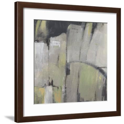 Peaceful Abstract II-Julie Silver-Framed Art Print