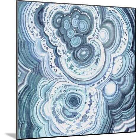 Blue Malachite II-Julie Silver-Mounted Giclee Print