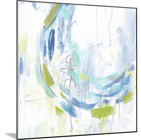 Blue Movement I-Julie Silver-Mounted Giclee Print