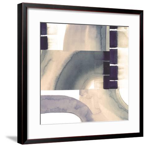 Sepia Falls I-Julie Silver-Framed Art Print