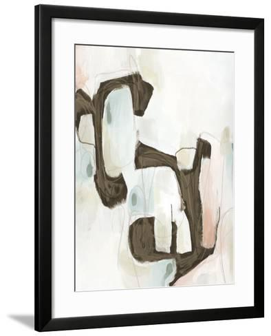 Sepia Structure I-Julie Silver-Framed Art Print