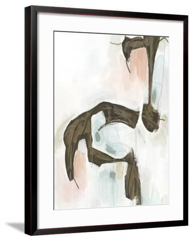 Sepia Structure II-Julie Silver-Framed Art Print