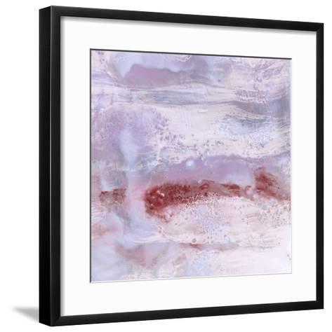 Serene Texture II-Julie Silver-Framed Art Print