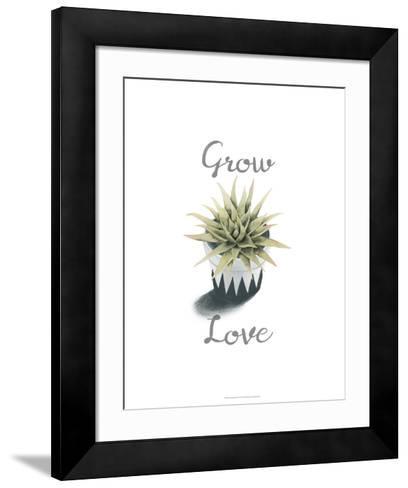 Succulent Life III-Julie Silver-Framed Art Print