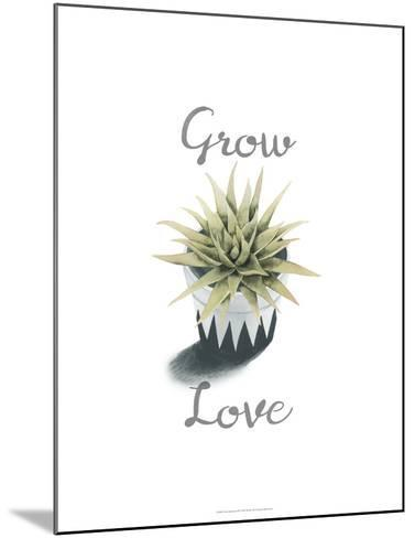 Succulent Life III-Julie Silver-Mounted Giclee Print