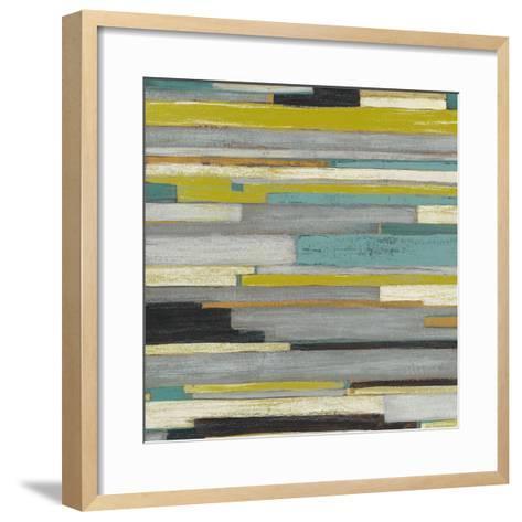 Textile Texture I-Julie Silver-Framed Art Print