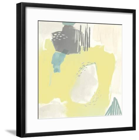 Thinking in Circles I-Julie Silver-Framed Art Print