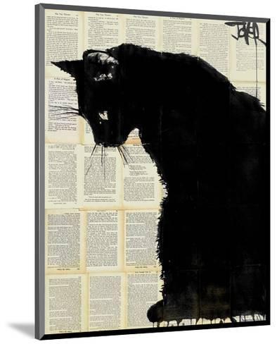 Black Cat-Loui Jover-Mounted Art Print