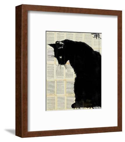 Black Cat-Loui Jover-Framed Art Print