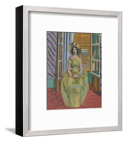 The Yellow Dress, 1929-31-Henri Matisse-Framed Art Print