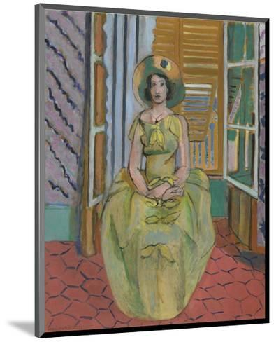 The Yellow Dress, 1929-31-Henri Matisse-Mounted Art Print