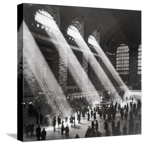 Grand Central Station, Morning-The Chelsea Collection-Stretched Canvas Print