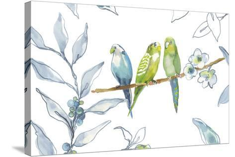 Birds Of A Feather-Sandra Jacobs-Stretched Canvas Print