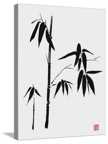 Bamboo II-Jenny Tsang-Stretched Canvas Print