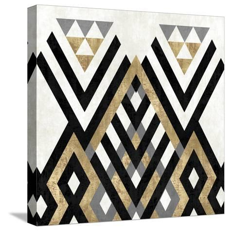 Geo Deco II-Alan Lambert-Stretched Canvas Print
