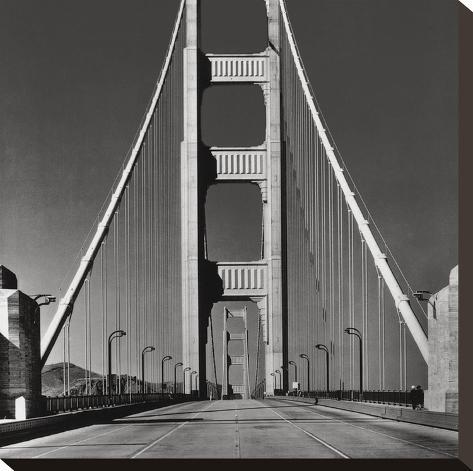 The Golden Gate Bridge, Summer AM-The Chelsea Collection-Stretched Canvas Print