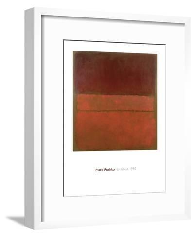 Untitled, 1959-Mark Rothko-Framed Art Print