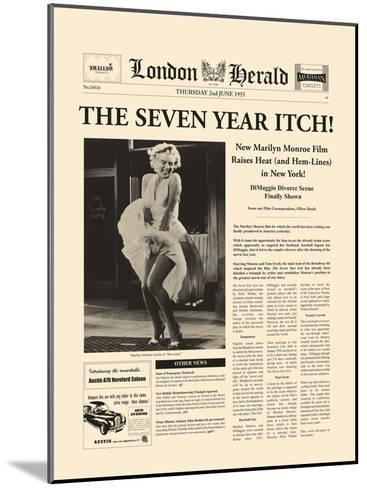 The Seven Year Itch-The Vintage Collection-Mounted Giclee Print