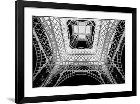 X-ray - Beneath the Eiffel Tower-John Harper-Framed Art Print