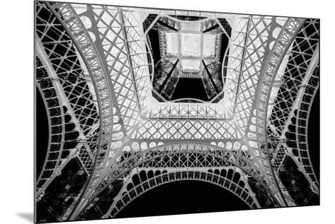 X-ray - Beneath the Eiffel Tower-John Harper-Mounted Giclee Print